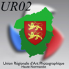 logo UR02 Union régionale d'Art photographique Haute Normandie